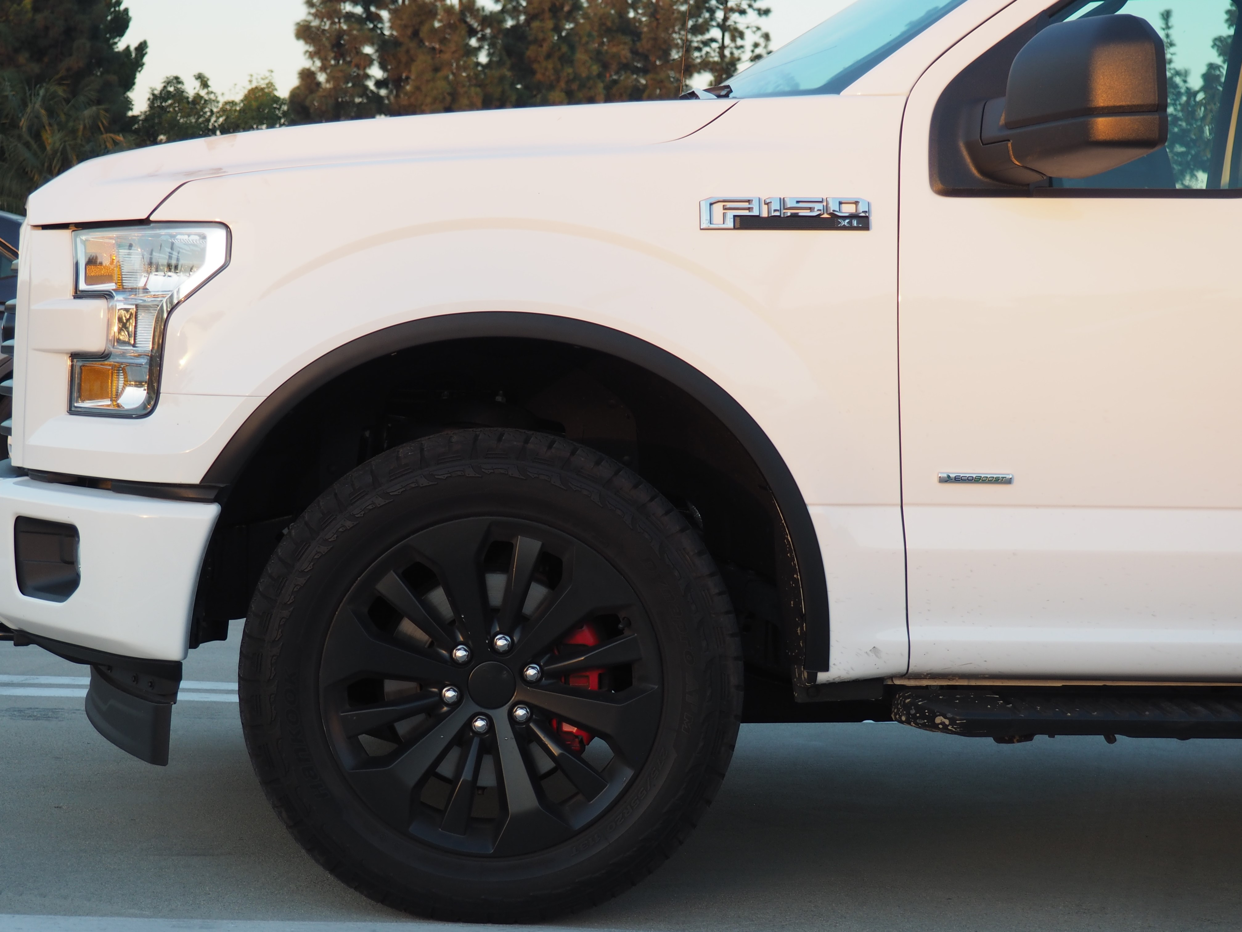 2018 Ford F150 Interior >> 2015 2016 2017 F150 F-150 TRUCK MATTE BLACK FENDER FLARE WHEEL WELL MOLDING TRIM | eBay